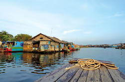 Excursión de un día a Tonle Sap y pueblo flotante desde Siem Reap