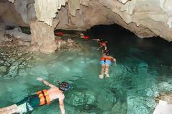 Ruínas de Tulum e excursão subterrânea de Cenote de Cancun