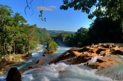 Excursión de un día a Cascadas de Agua Azul y Palenque desde San Cristóbal