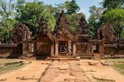Tour privado: Siem Reap Tour de día completo con Angkor Wat Banteay Srei Bayon Temple y Ta Prohm