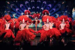 Moulin Rouge Show de noche con champán