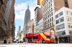 Paquete Super Nueva York incluyendo Tour de Hop-on Hop-off, Observatorio y Estatua de la Libertad