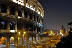 Coliseu de noite Passeio a pé: Undergrounds e Arena