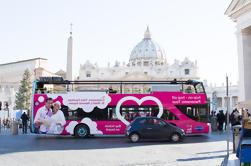 Eu amo a excursão panorâmica do Hop On Hop Off de Roma