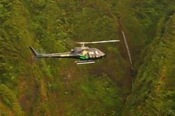 Excursão em helicóptero de 60 minutos em Oahu: Ali'i Sacred Falls
