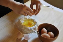 Clase de cocina y almuerzo en una granja toscana