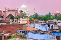 Excursion d'une journée culturelle d'Agra avec le vélo Rickshaw Ride
