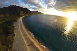 Passeio de helicóptero em Oahu: North Shore Sunset Spectacular