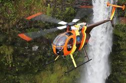 Excursão do helicóptero da aventura da costa norte