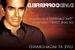 David Copperfield in het MGM Grand Hotel and Casino
