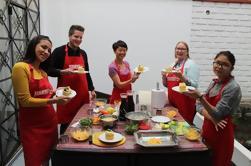 Clase de cocina de Lima con una familia local