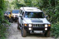 All-Inclusive Auto-Drive Hummer Tour: Ziplining, C
