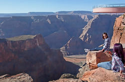 Grand Canyon West Rim Air and Ground dagje uit Las Vegas met optionele Skywalk