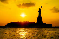 Nueva York Crepúsculo Vela