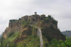 Orvieto, Civita di Bagnoregio Tour en bicicleta desde Roma
