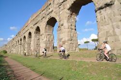Camino antiguo de Appian y visita del lago Castel Gandolfo
