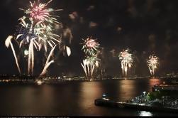 4 de julio Crucero de fuegos artificiales y 2 horas de turismo de la ciudad de Nueva York