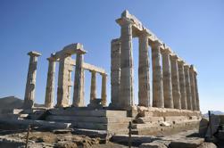 Excursión de la costa de Atenas: Viaje privado de la ciudad y viaje de Sounion del cabo