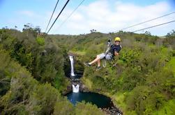 Zip n 'Swim- Zipline através do paraíso e cachoeira privada Swim
