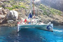 Cruzeiro em Catamarã de Maiorca e Viagem de Snorkeling