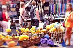 Passeio de compras do Mercado Inca de Palma de Mallorca