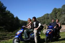 Excursión independiente de la vespa de Mallorca con alquiler
