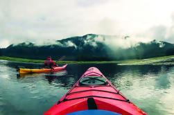 Mendenhall Lake Kayak en Salmon Bake Adventure