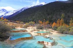 2-Day Jiuzhaigou y Huanglong Parques Nacionales