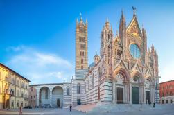 Siena e Montepulciano Tour de grupo pequeno com o almoço da adega de Florença