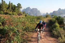 5-Day Small-Group Yangshuo Bike Aventura con escalada en roca, senderismo, kayak o clase de cocina