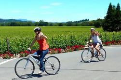 Tour de Bicicleta de Campo de Vino y Almuerzo de Picnic con Transporte desde San Francisco