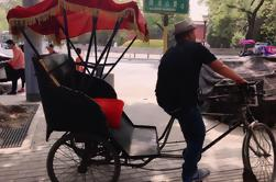 Tour cultural privado: Hutong Rickshaw Ride and Dumpling Making en Beijing