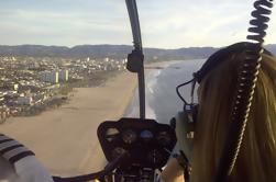 Recorrido en helicóptero por la costa de California con aterrizaje privado desde Los Ángeles