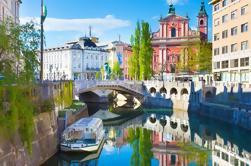 Excursión privada de día completo: Ljubljana y Bled desde Zagreb