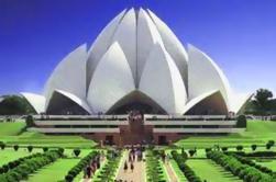 Tour privado de Delhi: Templo del loto, Qutub Minar y Dilli Haat