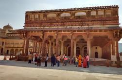 Excursión privada de 2 días a Jaipur desde Delhi: Palacio de la Ciudad, Hawa Mahal y Fortaleza Amber