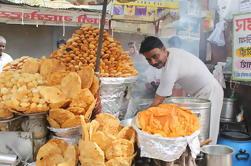 Excursión a pie para degustación de alimentos en Agra