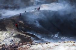 Islandsk vulkan Fottur i Thorsmork dalen