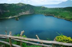 Tour de Trekking y Cabalgata de Volcán Taal de Día Completo incluyendo Almuerzo