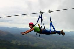 Superman Zipline Course en Adventure Park Costa Rica