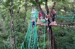 Excursión a las Cuerdas Altas en el Parque de Aventuras de Puntarenas