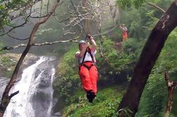 Cascada Canopy Tour en Zipline en Adventure Park Costa Rica