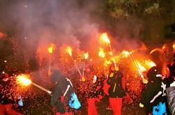 Experiencia Cataluña: Festival Correfoc (Correr fuego) desde Barcelona