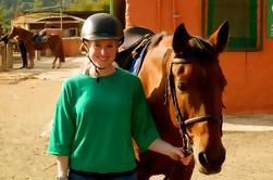 Visite privée d'une demi-journée dans un parc naturel à cheval à Barcelone