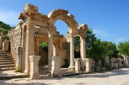 Antigua ciudad de Ephesus de Izmir con la guía privada