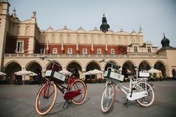 Excursão privada em bicicleta de Cracóvia