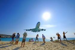 Excursión de la costa de St Maarten: Viaje de ida y vuelta a la playa de Maho