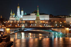Moskou bij nacht: Small-Group Walking Tour met Annushka Tram
