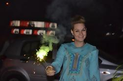 Experiencia Diwali con una familia local en Delhi