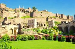 Tour privado de medio día: fortaleza de Golkonda y tumbas Qutb Shahi de Hyderabad
